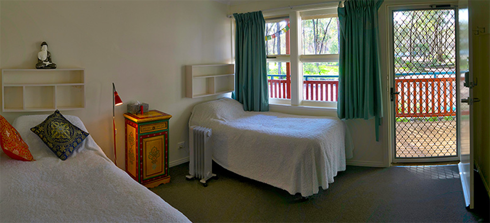 Atisha Retreat Centre Accommodation - Shared Rooms
